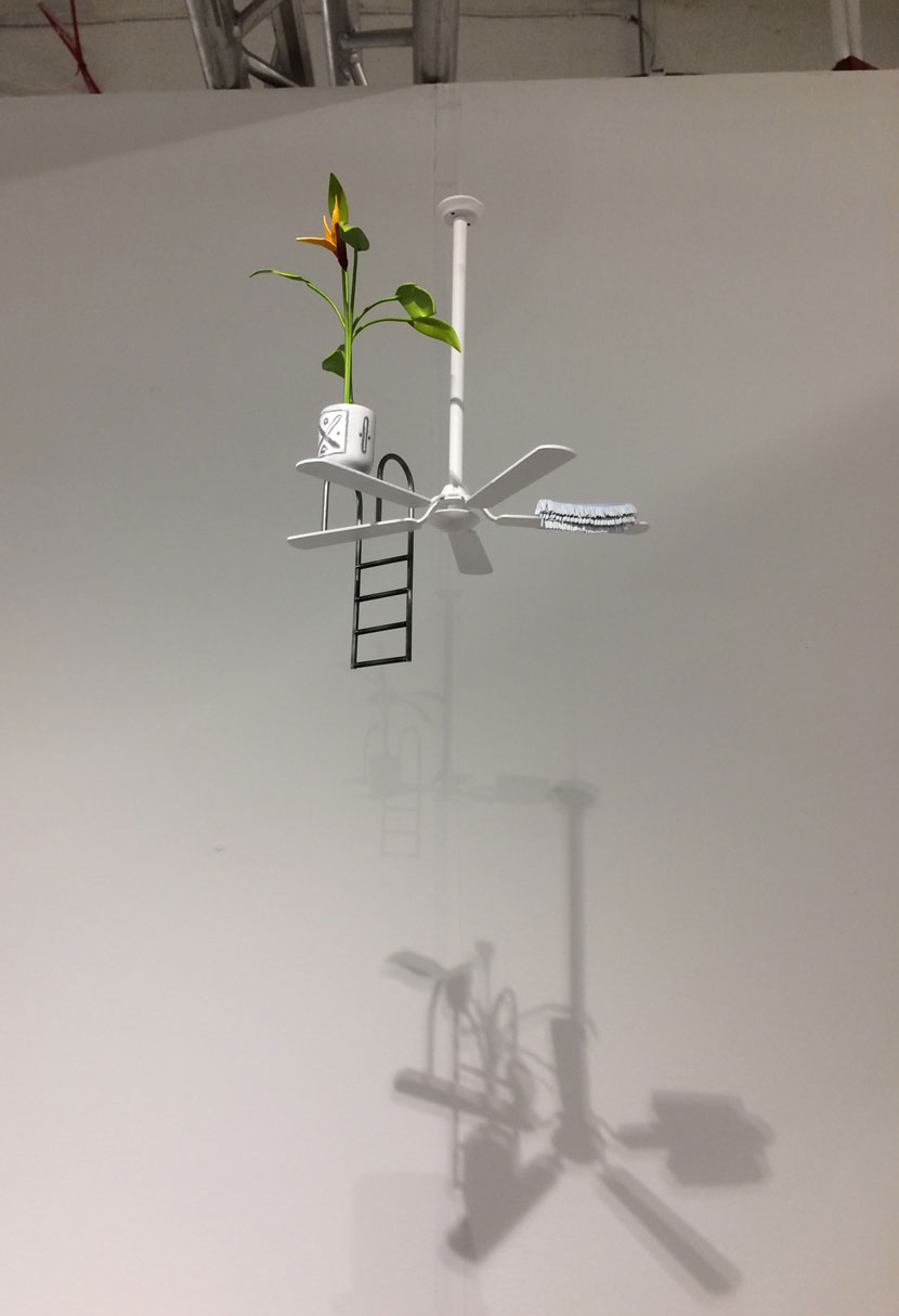 Chris Bradley, Untitled (Ceiling Fan), 2015, Shane Campbell Gallery, Chicago, IL