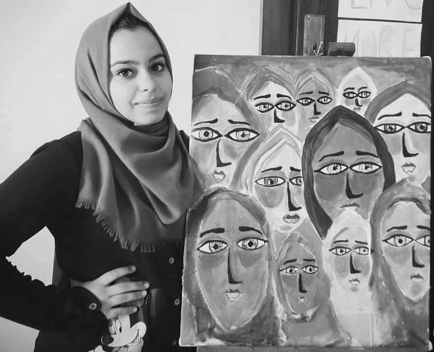 Artist Malak Mattar