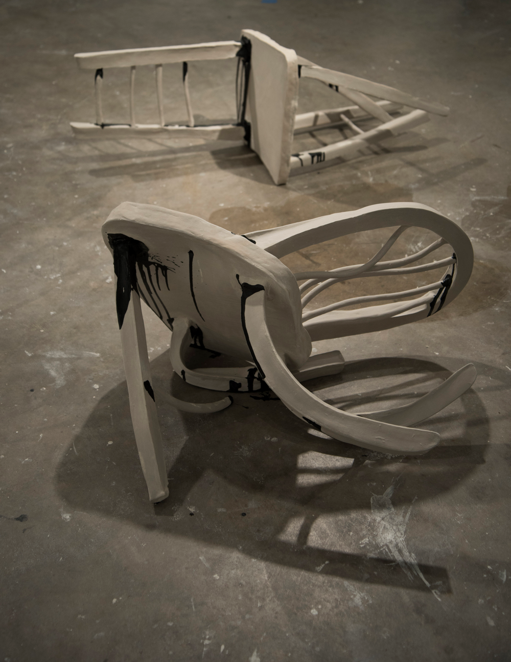 """Untitled, from """"Chairs"""" installation piece by Ashton Leath"""