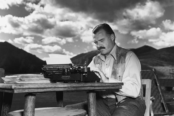 (image from CNBC)  ERNEST HEMINGWAY:  Said to have woken up at 5 am daily (no matter how late into the night he drank whiskey) and go 'til noon