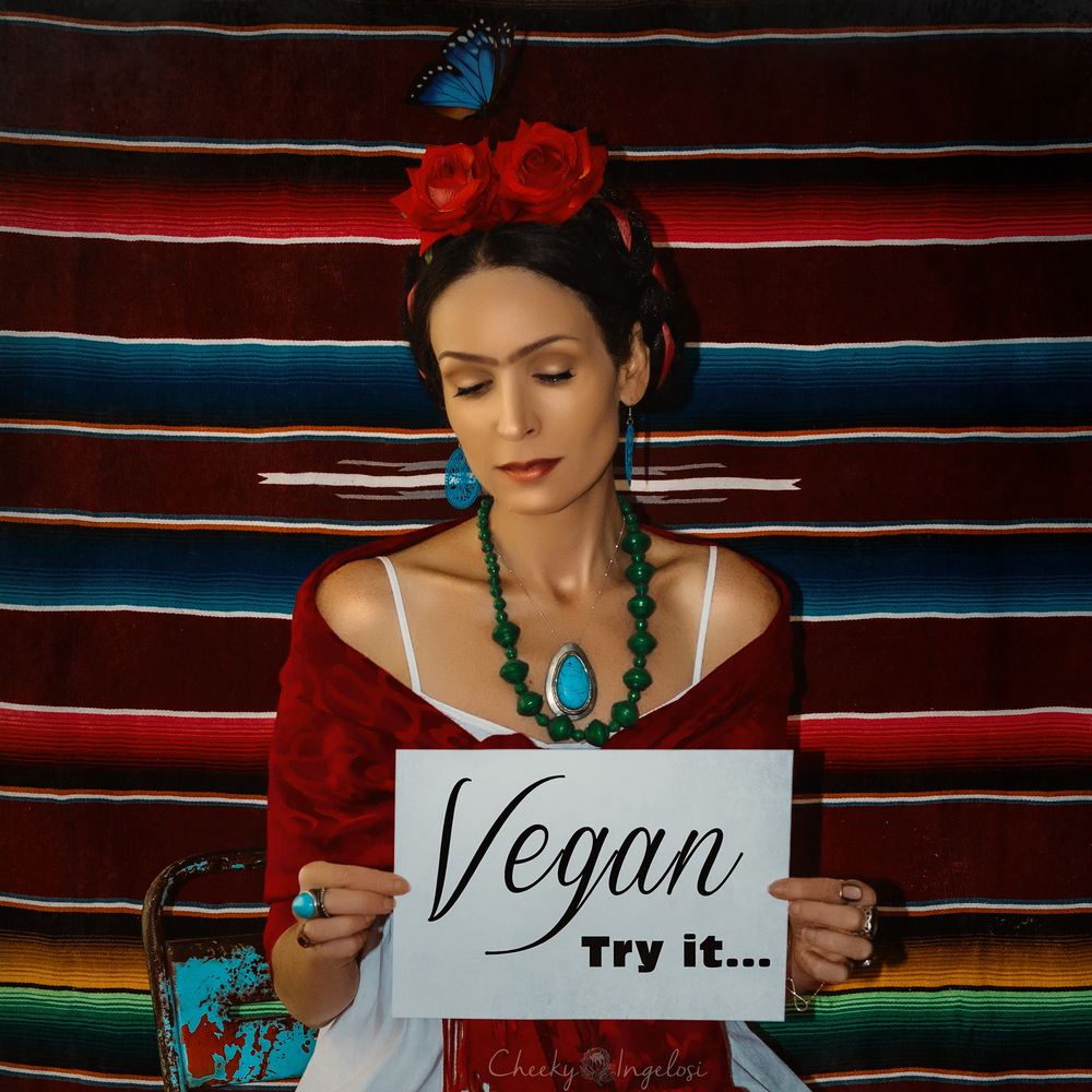 """Vegan Square"" by Cheeky Ingelosi"