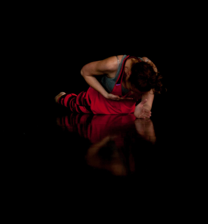 Danielle, Fallen Angels Dance Theatre in rehearsal.