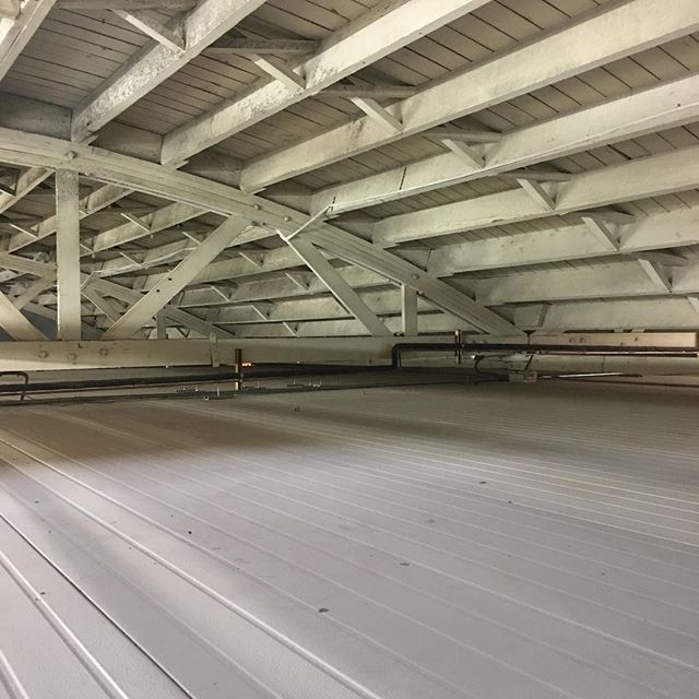 """Panels packed to the peak. Here is a #growfoam enclosure reaching twelve feet on the exterior, tucked smoothly underneath a 12'8"""" bow truss style building. Maximizing square footage is key for #commercialcannabisproduction and #cannapanels commercial grow systems can be custom made to support storage space up top. #CannaPanels #Cultivation #MMJ #growroom  #indoorplants #growyourown #horticulture #cannabis #worksmarternotharder #indoorgardening #cannabiscup #medicalmarijuana #420 #weedstagram #weedstagram420 #cannabiscommunity #weedporn #indoorgarden  #extracts #420life #cannapanelsystems #imagine #dreamgrow #neverstopgrowing #imaginethepossibilities #gamechanger #hydroponics"""