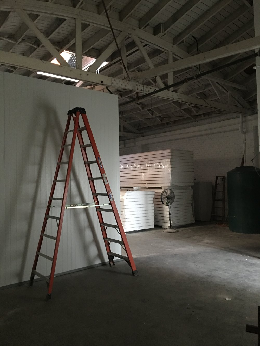 GROW ROOMS UNDER CONSTRUCTION