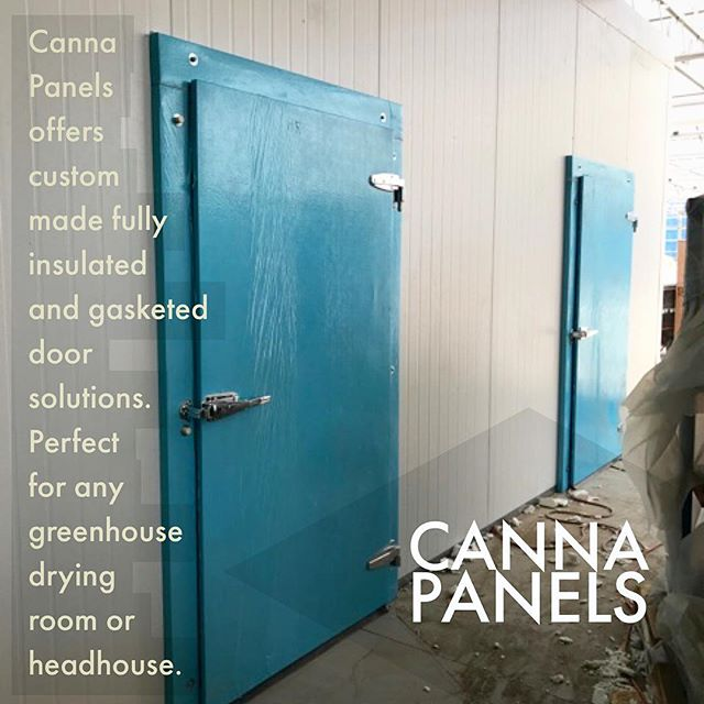 \\\ -CANNA PANELS- /// •FDA APPROVED • WATER PROOF • NON -ABSORBENT•RECOVERABLE• COST EFFECTIVE•STABLE R-VALUE • MADE CA-USA • 10 YEAR WARRANTY • CONTACT US TODAY  Featured here are Canna Panels Insulated Door Systems  which offer insulated and fully gasketed protection providing an optimal door solution for greenhouse headhouses and drying rooms. Canna Panels doors optimize  this headhouse by offering a 100% fully insulated environment for year round propagation of cannabis seedlings and clones.  Despite their many advantages, greenhouse and outdoor cultivation pose some unique challenges such as lacking an insulated building on site. Canna Panels specializes in building solutions providing highly insulated all weather building materials that will save you both time and money. Contact a Canna Panels representative for your estimate today. ~CP  #CannaPanels #Growerswhoknow #greenhouse #headhouse #growroom #gamechanger #losangeles #cannabis #cultivation #horticulture #growop #growroom #cultivationfacility #agriculture #horticulture #cannabiscommunity #wherethemagichappens  #medicalmarijuana #mmj #420 #westcoastbestcoast #oceangrown #medicalcannabis #neverstopgrowing #imaginethepossibilities #cannapanels #growyourown #thecannabismachine #cannapanels #weedstagram