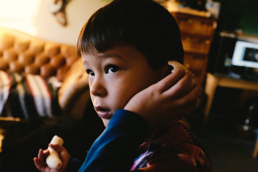 Korean Child Shell Banana Photograph