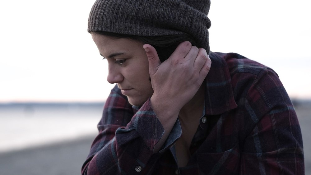 portrait Seattle flannel woman lesbian