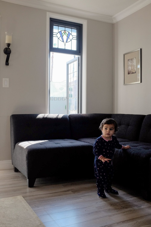 girl toddler portrait California natural light lifestyle