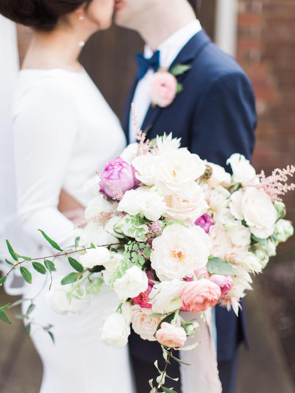 Bridal Flowers by Deanna Burks Design |  Visual: Jordan & Alaina Photograph