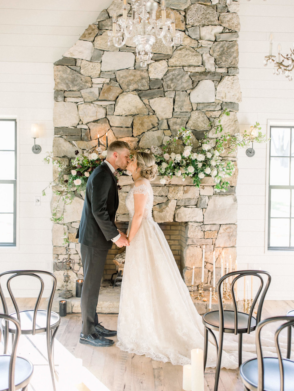 $4500 - the enchanted——A beautiful floral-covered wedding for larger wedding parties, dramatic centerpieces for medium to large weddings and beautiful ceremony backdrops.