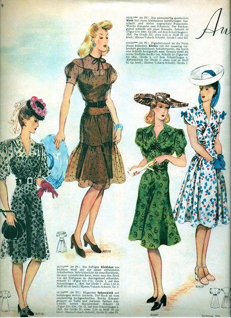 1942 Vintage Fashion Magazine