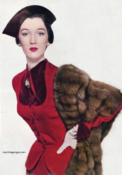 Model Dovima, 1950