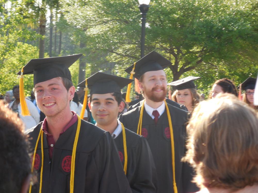 CSci Graduates 2016