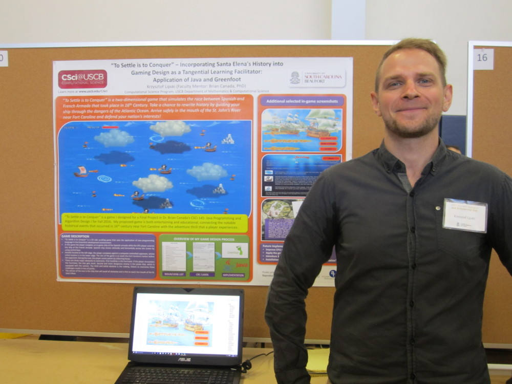 Student Research & Scholarship Day 2017: Krzysiek Lipski, Innovation & Applications