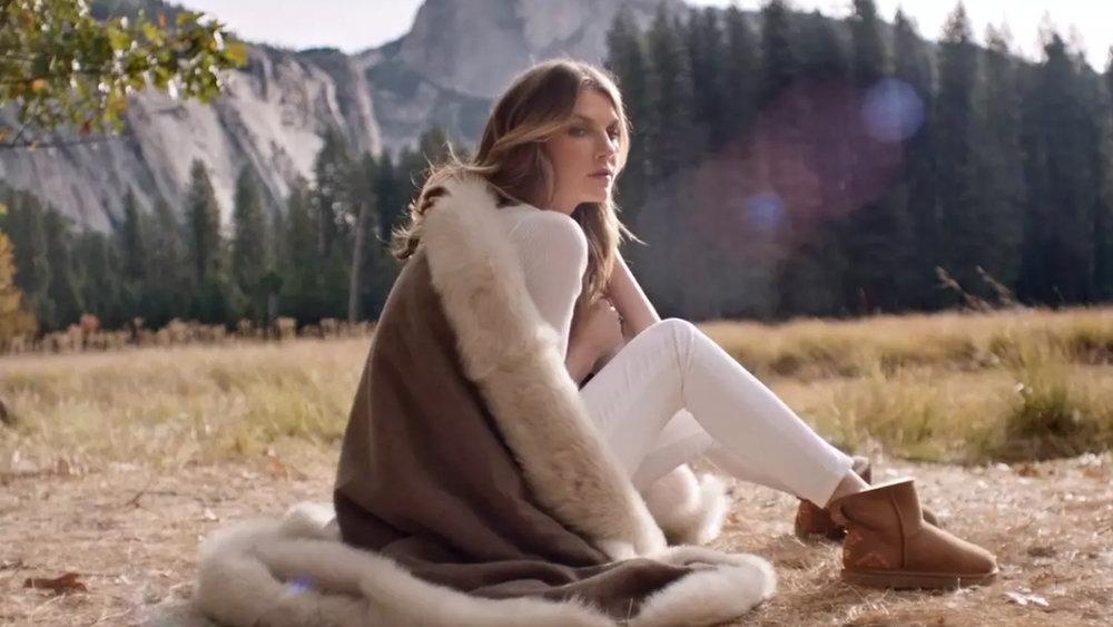 ugg angela lindvall  - campaign -