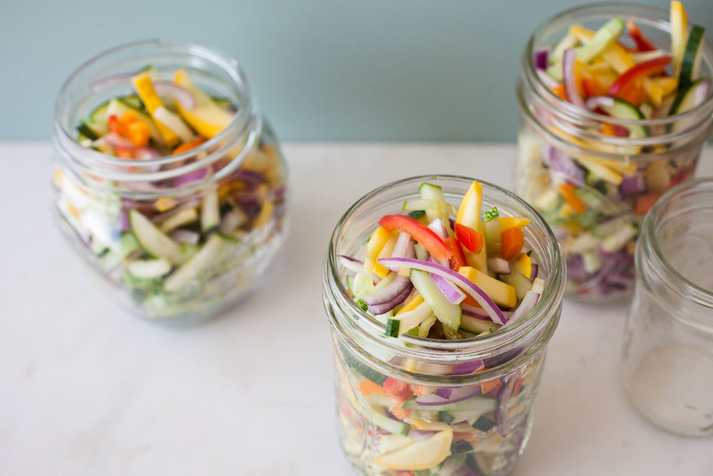 Pickled Summer Relish - miracle gro