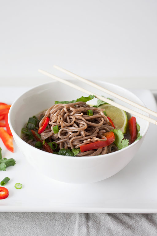 Lemongrass Noodle Bowl - bonnie plants