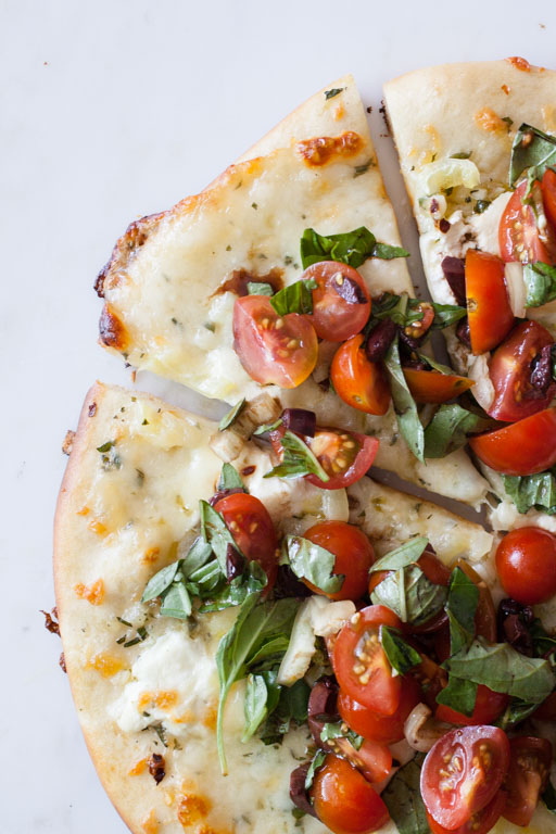 Bruschetta Pizza - bonnie plants(featured on product tag)