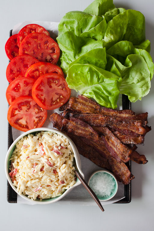 BLT with White Cheddar Pimento Cheese - BONNIE PLANTS - FOODIE FRESH