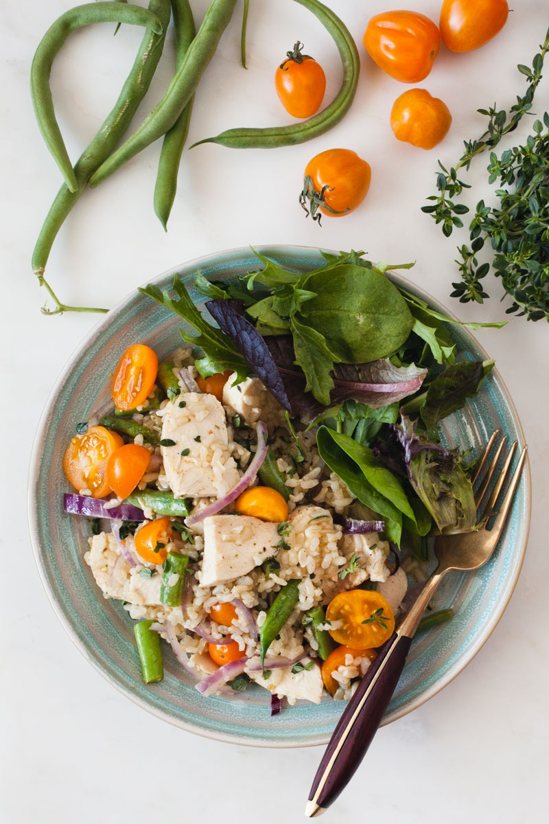 Summer Chickenand Rice - BONNIE PLANTS - FAST & FRESH