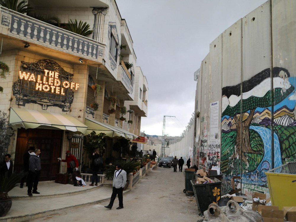 Banksy Denies Messiah Complex, Opens Guesthouse in Bethlehem