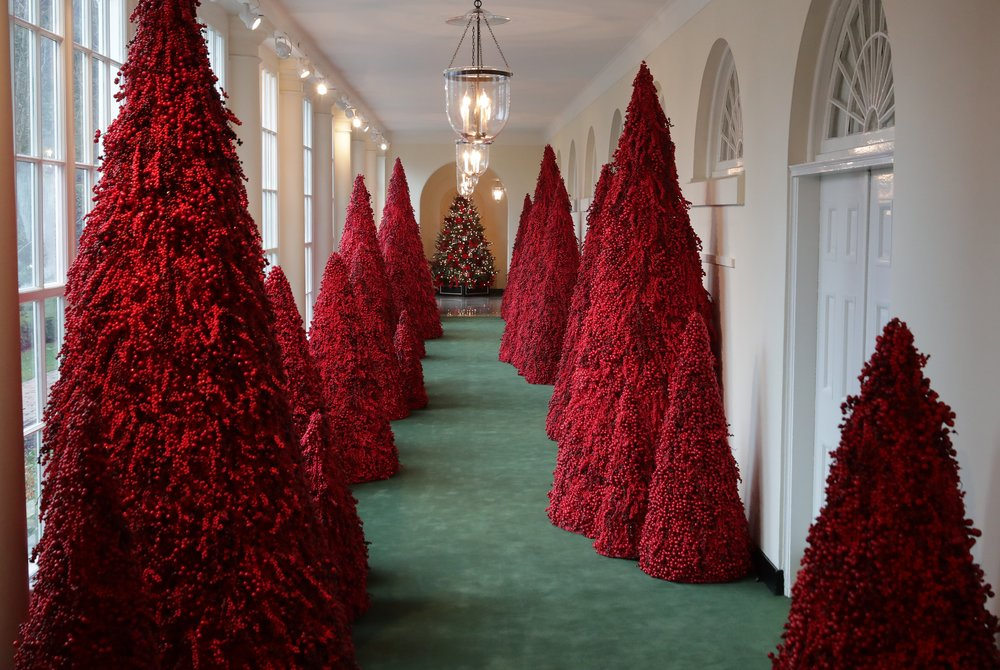 Red trees could also = pure blood