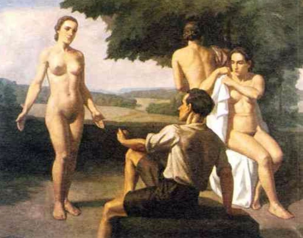 Ivo Saliger - The Judgement of Paris (1939)