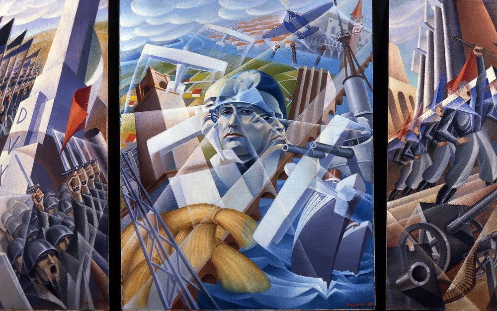 Alessandro Bruschetti's   Sintesi Fascista  (1935).