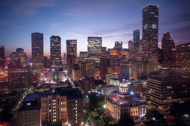 Houston, Texas, by Katie Haugland Bowen CC by 2.0