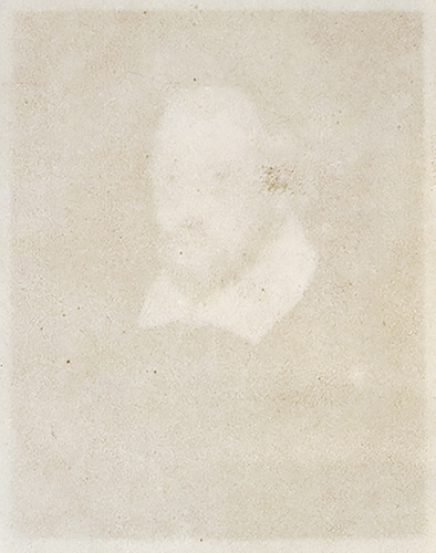 """Shakespeare, 1856"" by fine art photographer and writer Thomas Gearty. From the series ""Book Marks."""