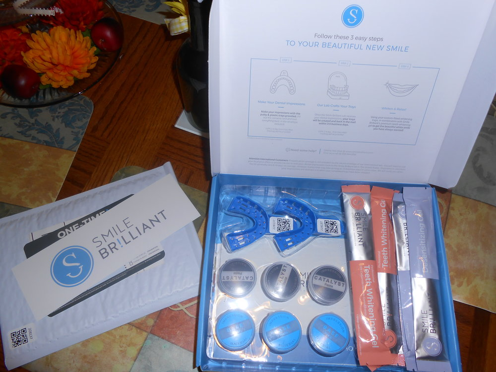 The kit comes with everything that you need to both Whiten and do you impressions to get your personal trays.