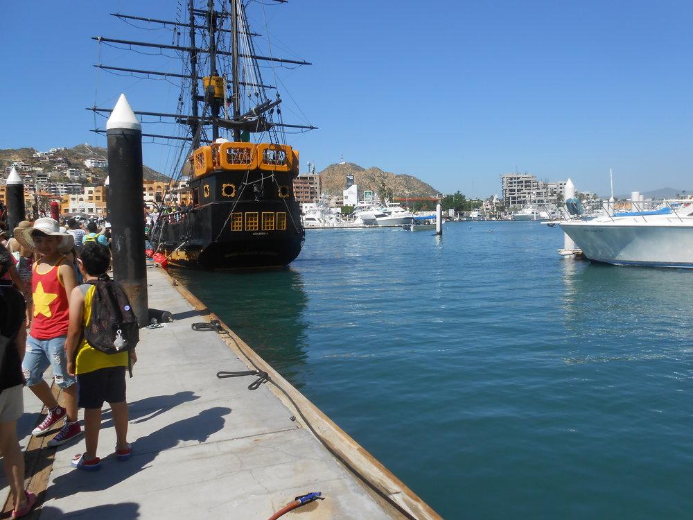Like I said... we went on a Pirate Adventure!!