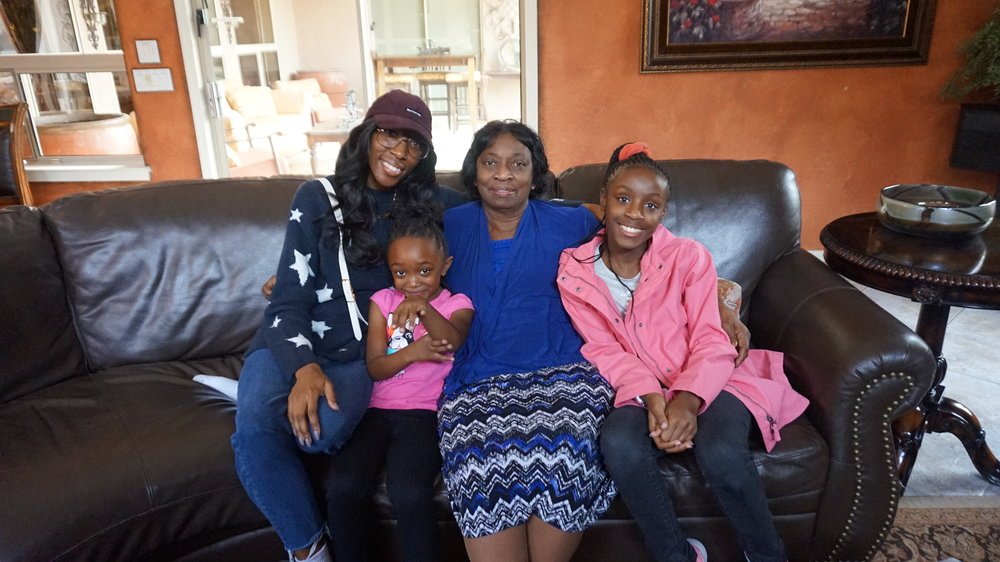 Niece, Grandma and Cousin