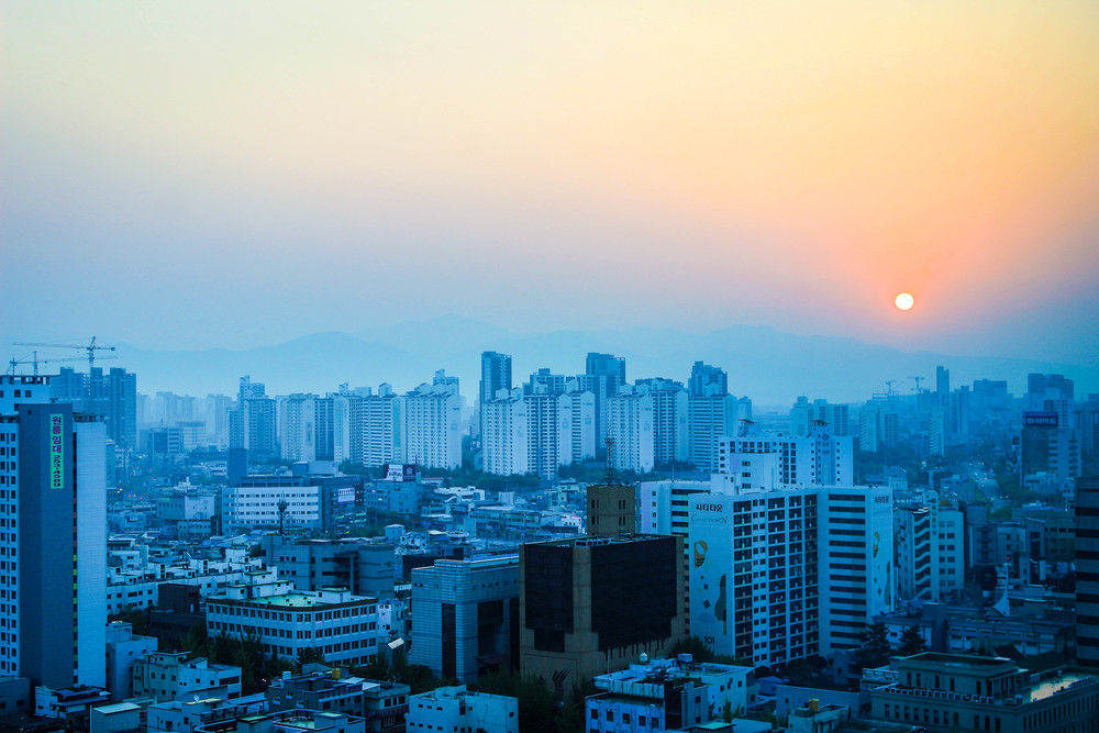 Sunrise in Daegu