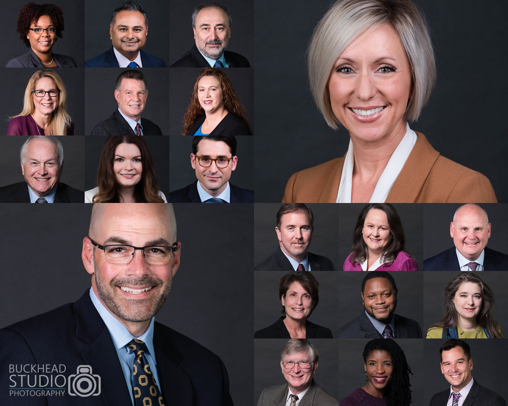 4 Reasons why Corporate Headshots are Important for your Business - Atlanta Group Headshot Photographer - Buckhead Studio