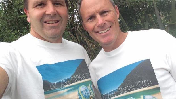 Campaigners Duane Major (left) Adam Gard'ner (right)
