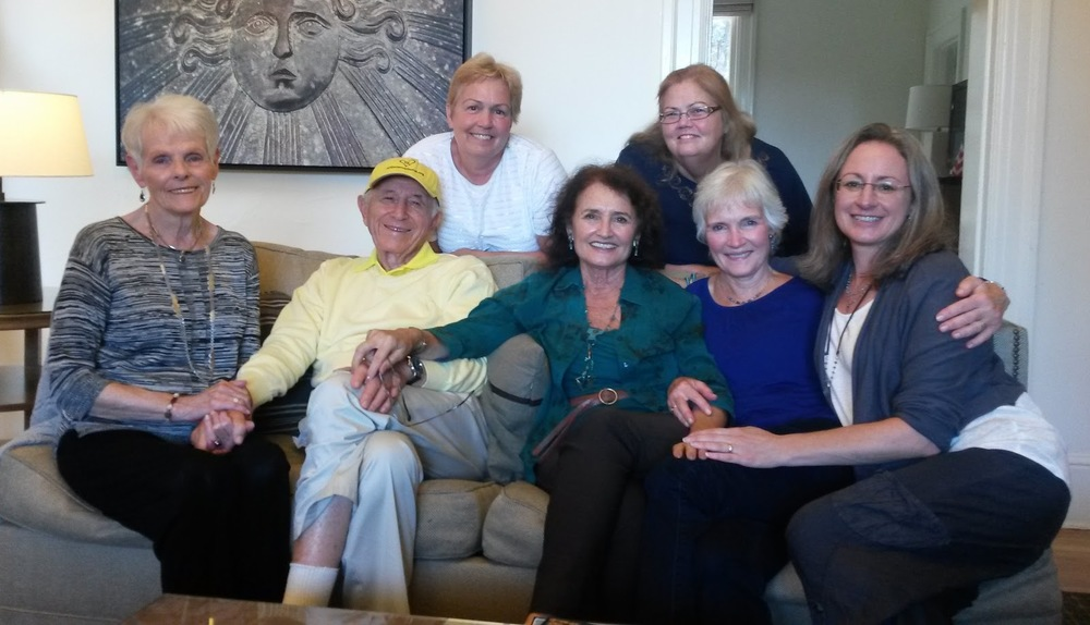 Heartlight Council members with Jerry and Diane at the 2014 International Conference, celebrating the 40th Anniversary of Attitudinal Healing and Jerry's 90th birthday.