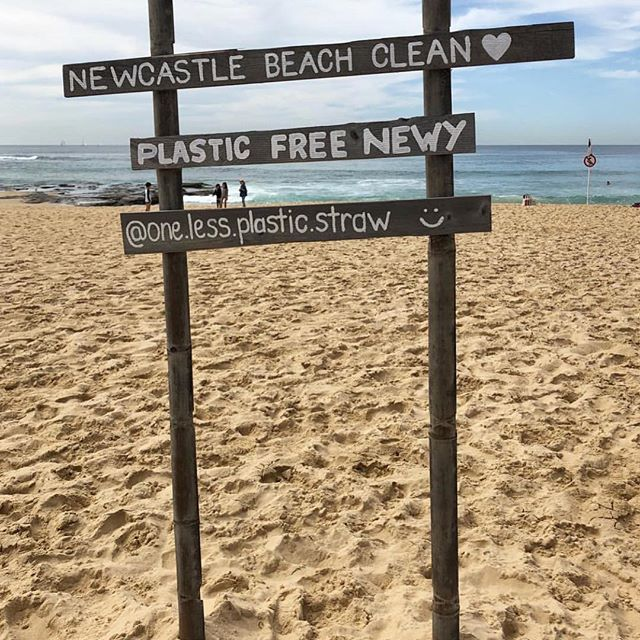 This Saturday! Newcastle Beach Clean, 3pm. Be sure to follow @one.less.plastic.straw to keep up to date with everything she organises down here @ Newy Beach. ♻️ . . . #thekiosk #thekiosknewcastlebeach #newcastle #mynewcastle #newy #newycoffee #newyeast #eastend #hellonewyeast #newylife #newybeach #newcastlebeach #redhot #summer #coffee
