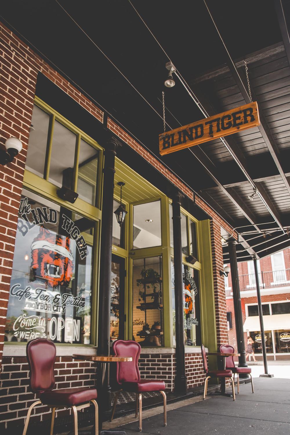 blind tiger cafe ybor city