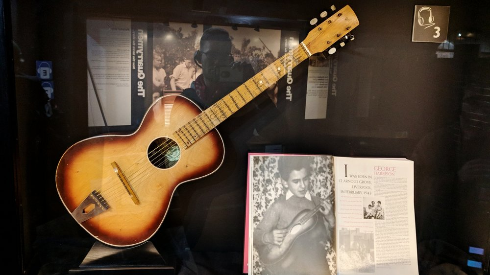George Harrison's First Guitar