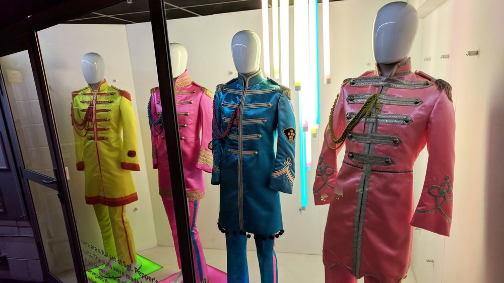 Exact Replicas of the Sgt. Pepper Suits