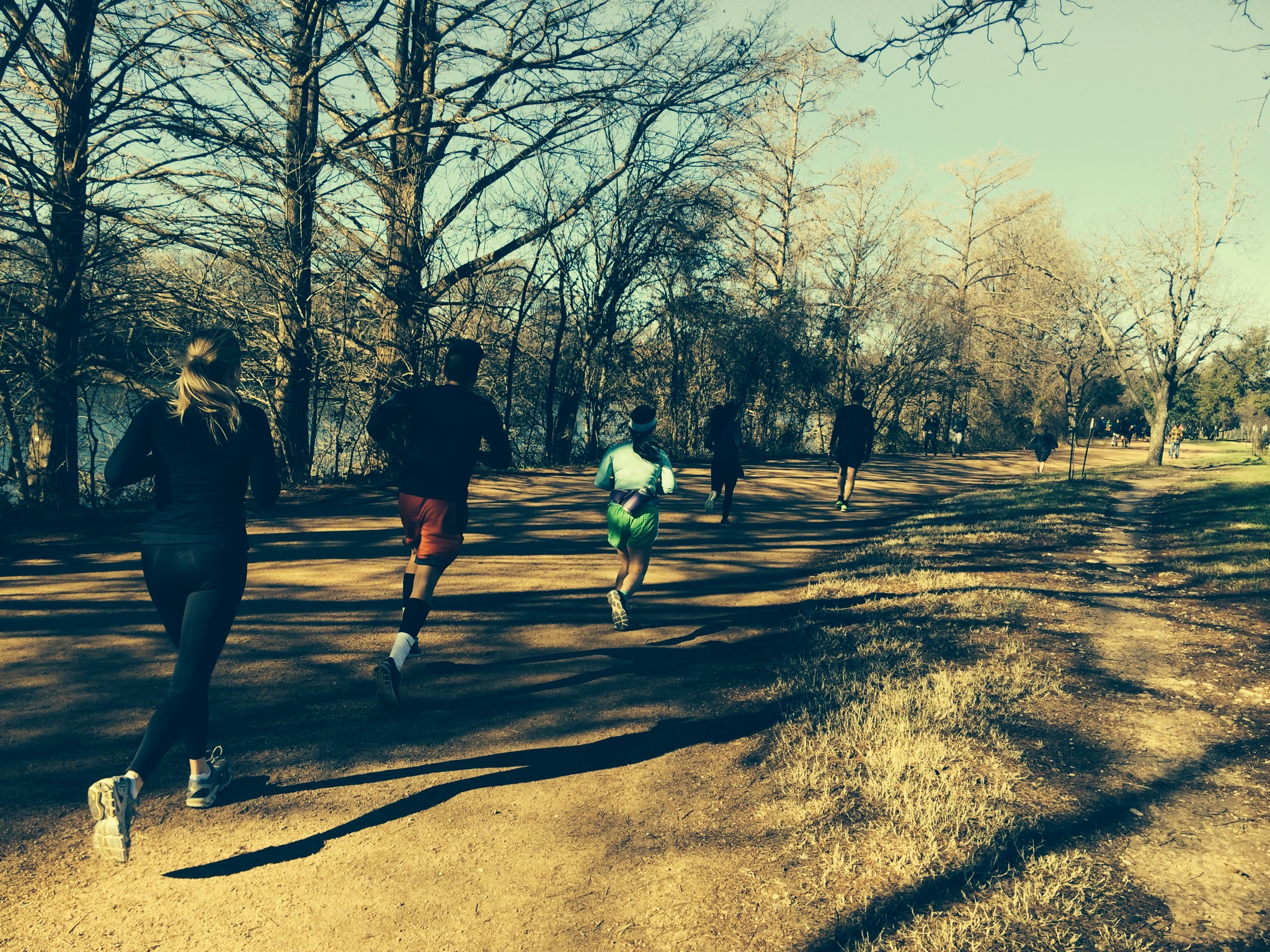 Austin trail running