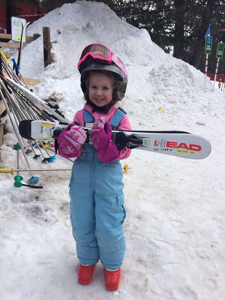 Madden skiing