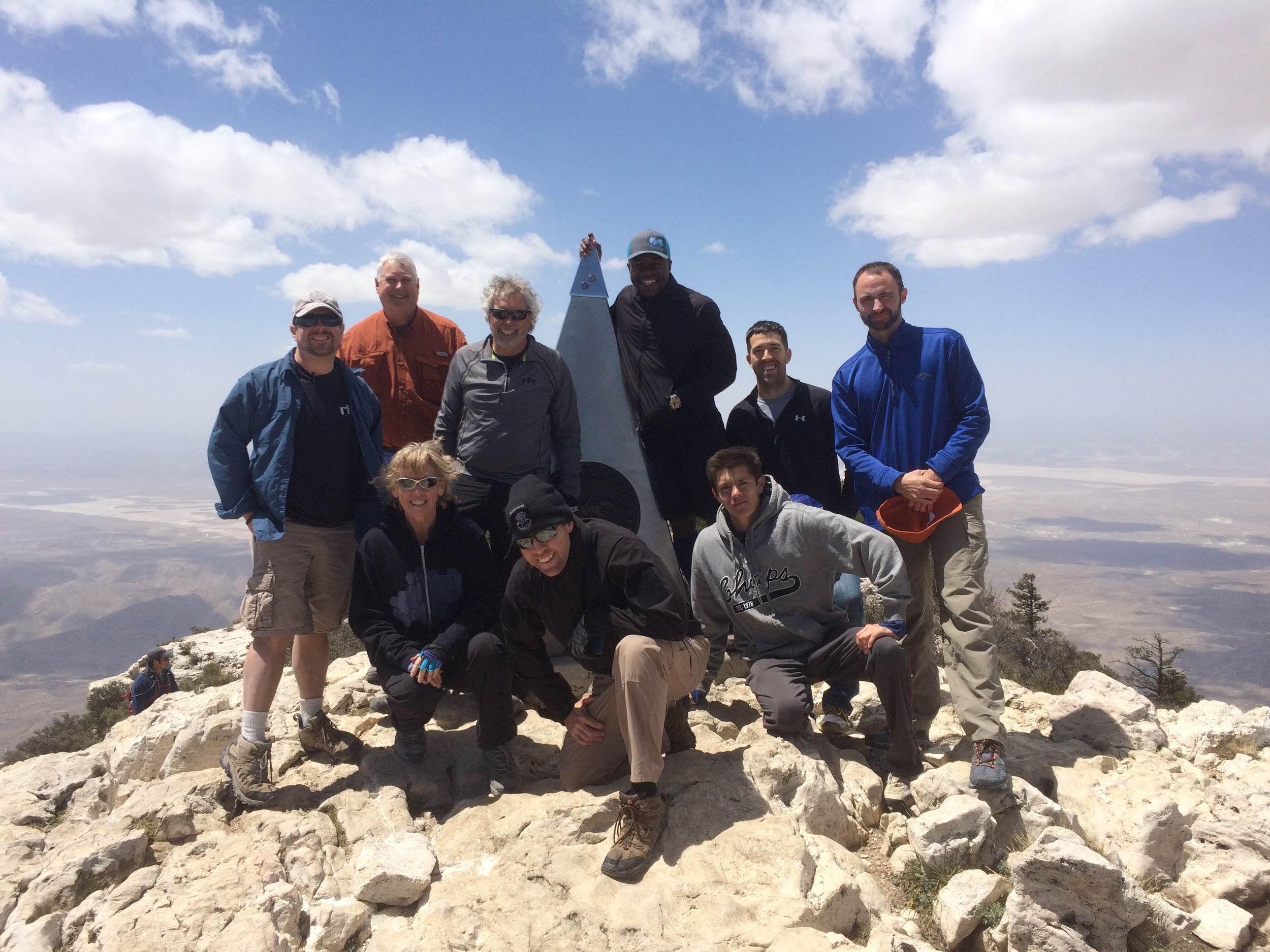 guadalupe peak Apr 2016