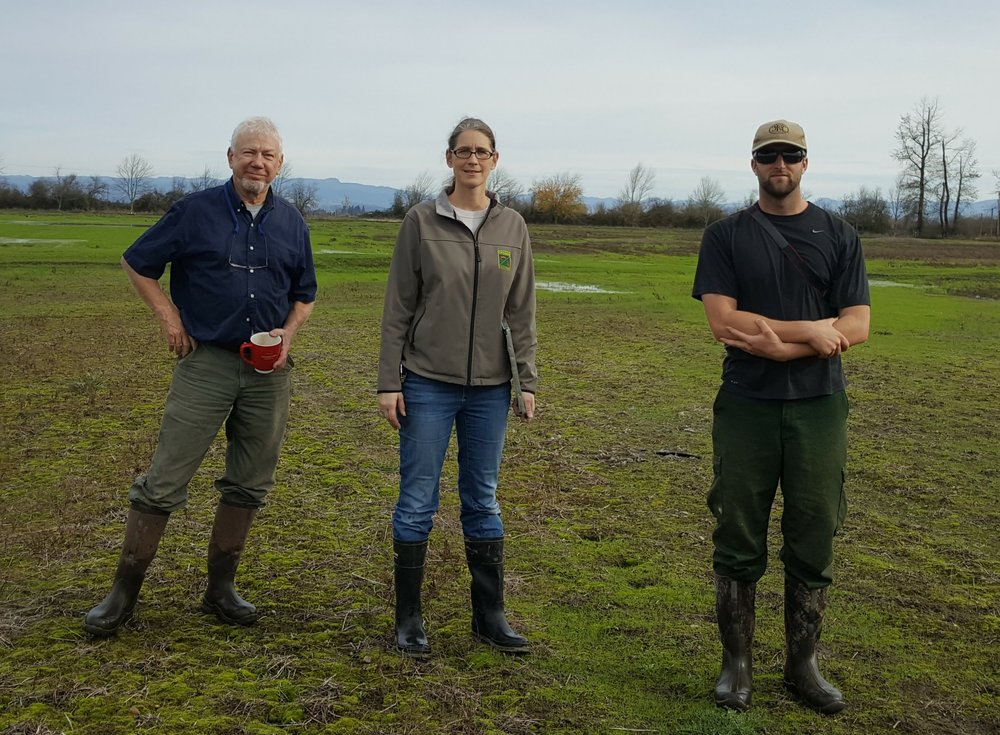 November, 2016. Review of project with Susan Barnes, Oregon Department of Fish & Wildlife.