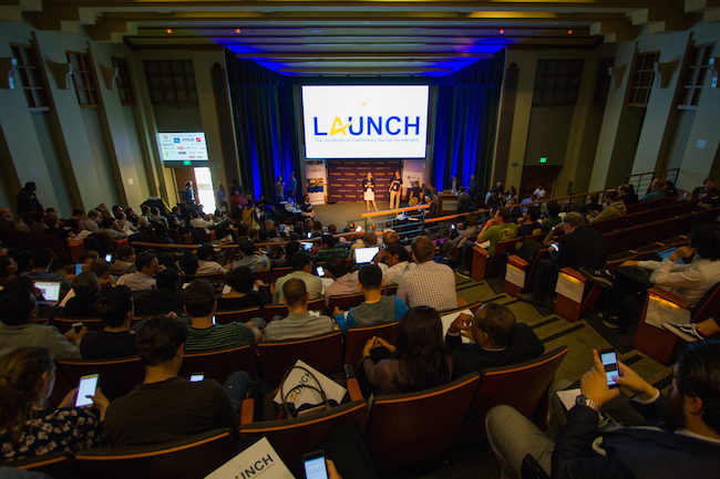 Demo Day (April 27) at LAUNCH, a three-month startup accelerator run by the University of California-Berkeley Haas School of Business.