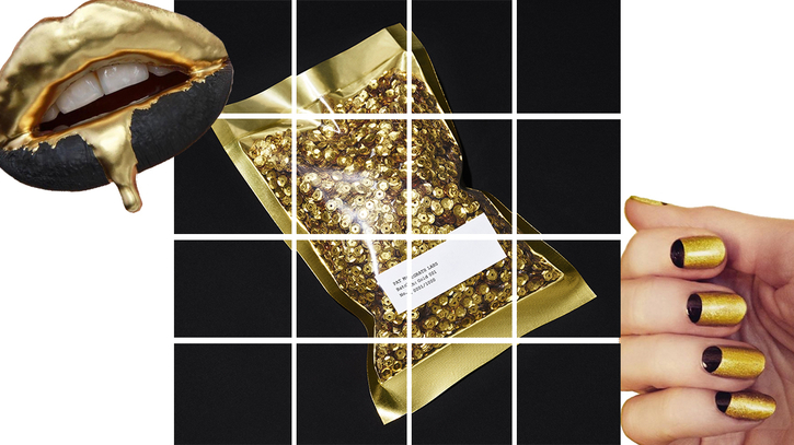 "WARNING: THE FOLLOWING PRODUCT MAY CAUSE ENHANCED FIERCENESS AND SICKENING RESULTS — or so says the packaging on makeup legend Pat McGrath's limited-edition pigment, Gold 001. The world-famous British makeup artist — known for her work with celebrities, top models, and most recently, her collaboration with the Covergirl Star Wars collection — is now releasing her own makeup collection, with Gold 001 at the forefront. This exciting news come with a slight downside: Only 1,000 of the limited-edition multi-purpose gold pigment are being produced. So beauty aficionados should be on high alert when Gold 001 becomes available for purchase at PatMcGrath.com on Oct. 29. We were first introduced to Gold001 glistening on the lips of models walking the runway at Prada's Spring 2016 fashion show in Milan. A week later, in the midst of Paris Fashion Week, McGrath decided to share her gilded product with the public. She and a team of assistants gave pedestrians and onlookers makeovers using Gold 001.   Finally, after mixed rumors and heightened anticipation, McGrath announced in early October that she was working on a full makeup collection under Pat McGrath Labs, but that she would be releasing a limited quantity of Gold 001 early. The purchase of Gold 001 includes the gold pigment itself, a spatula, mixing liquid and a second-life container, but it doesn't stop there. McGrath revealed on Instagram that the product arrives in a bag filled with shimmering, gold sequins for padding (basically, even the packaging is fabulous). With its intense color and a consistency that resembles crushed gold, Gold 001 pigment looks like an eyeshadow — but can be used for so much more than that! It can be used on eyes, brows, lashes, lips and skin. McGrath was all about creating a product without limits so much so that the package says things like; ""USE WITHOUT CAUTION,"" ""Requires unrestrained play and a reckless attitude,"" and ""Keep within reach and proceed with impulse."" The pigment is so versatile you can paint it on your lips for a luxe and daring look, brush it on eyebrows for bronzed arches, or mix it with a moisturizer for shimmering skin! We can't wait to get our hands on Gold 001 — and we're not alone. Here's what the style icons and beauty gurus of Instagram and Twitter have to say about the highly-anticipated release of Gold 001."