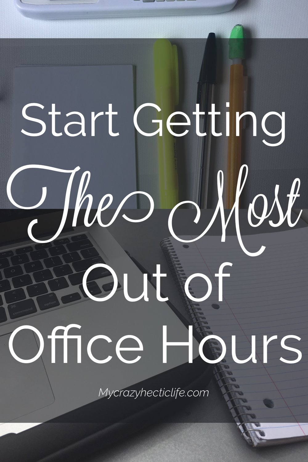 Start getting the most out out office hours with 5 easy actions.