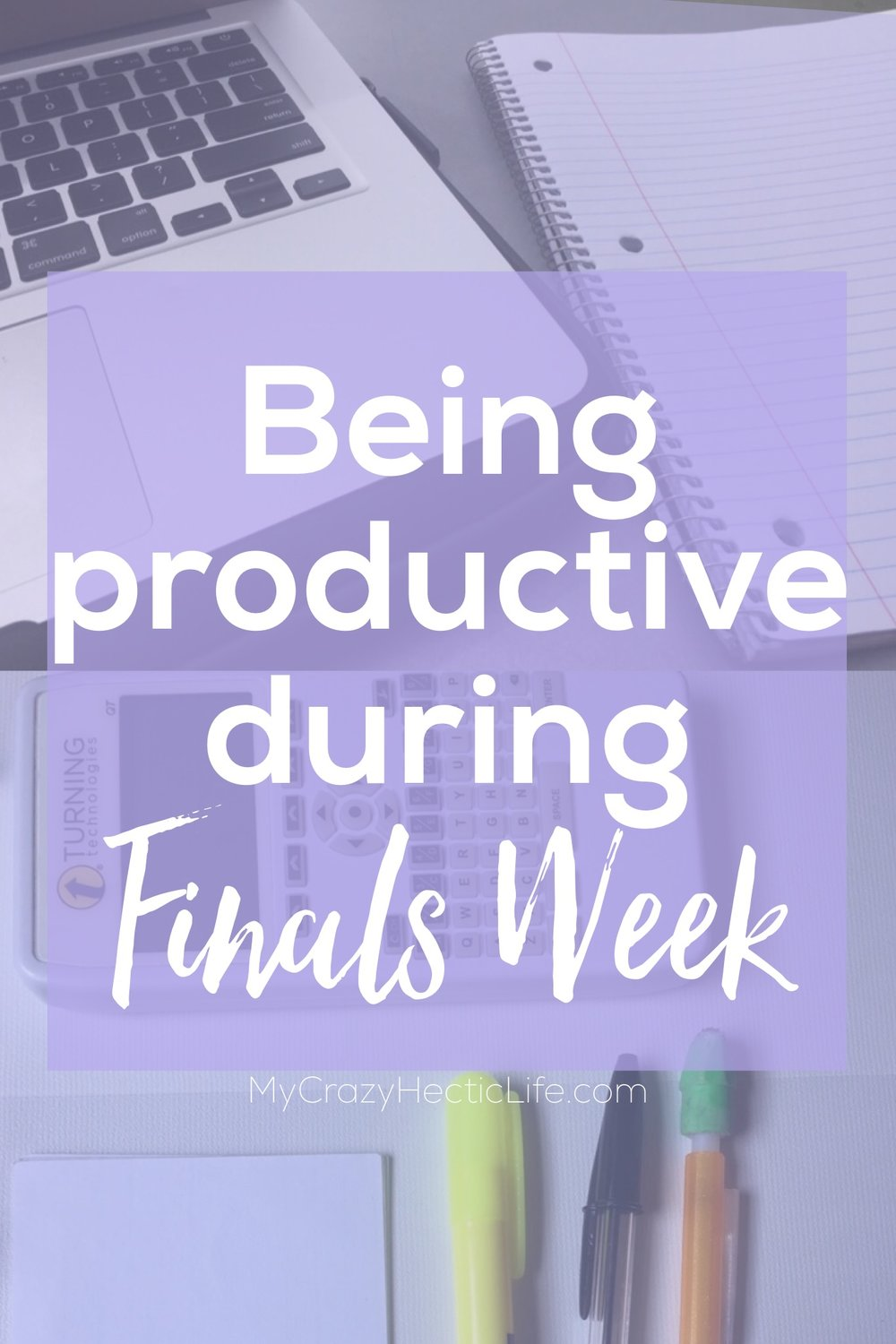 Don't let finals week stop you from getting stuff done!