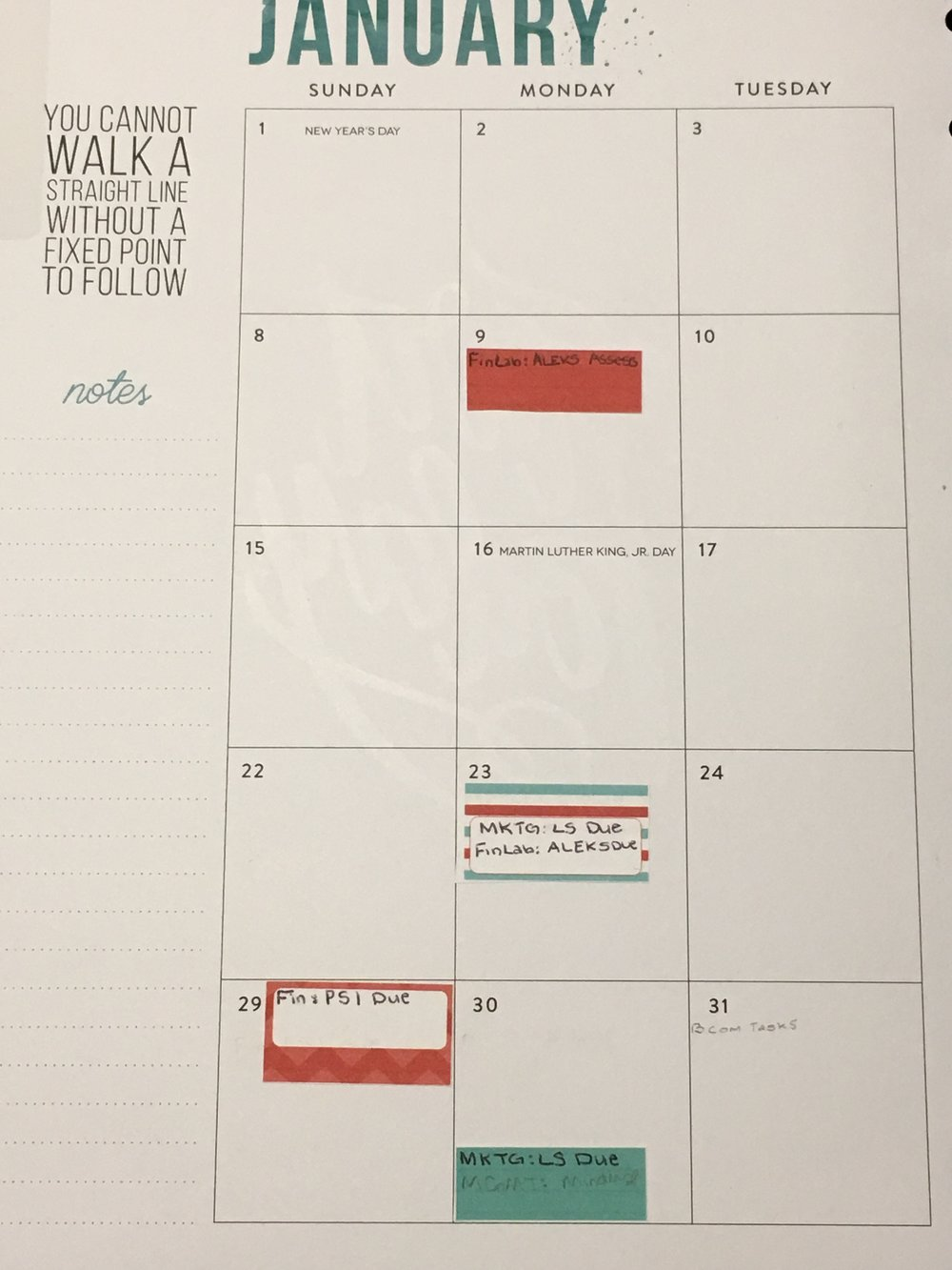 Monthly Planning with the Happy Planner